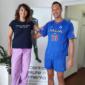 Con Pedro Gil - campione hockey su prato